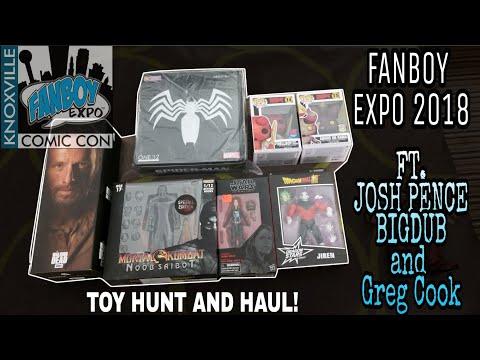 boy 2018 Toy Hunt with Josh Pence, BidDub and Greg Cook!!