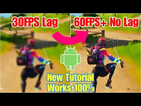 Play Fortnite Mobile Without Lag - Extreme 60FPS - 120Hz On Android Phones - Updated Guide