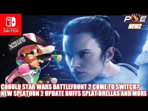 Nintendo Switch - Star Wars Battlefront II Incoming? 'If There's Opportunity' + Splatoon 2 Update!
