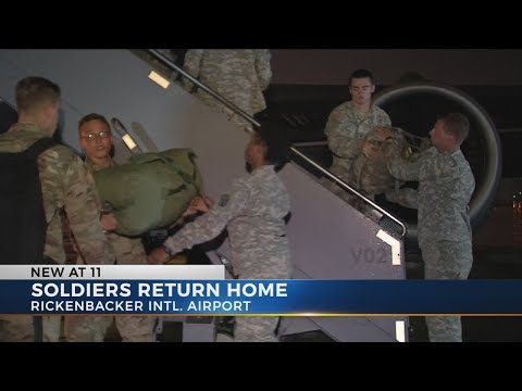 Ohio National Guard soldiers back in Ohio after relief mission