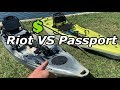 Budget Pedal Drive Shootout: Hobie Passport VS Riot Mako