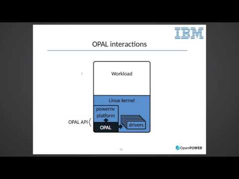 OpenPOWER Summit 2016 - Linux on OpenPOWER: internals, interfaces and integration