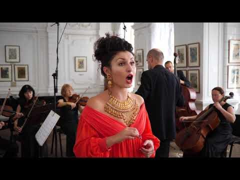 "A.Vivaldi.Opera"" Bajazet"".Aria : Sposa son disprezzata.Soprano :Leila Sherzai"