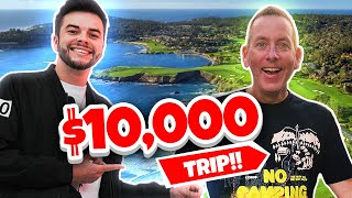 SURPRISING MY DAD WITH $10,000 VACATION!