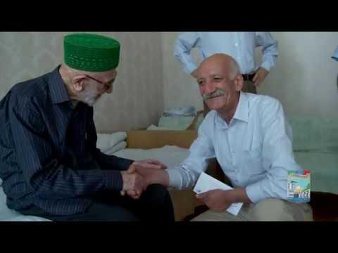 Дагестан. Ветерану и участнику ВОВ Камилю Малачиеву - 96 лет (г.Кизилюрт, 19 июня 2019 года)