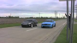 Ford Mustang GT vs Ford Taurus SHO