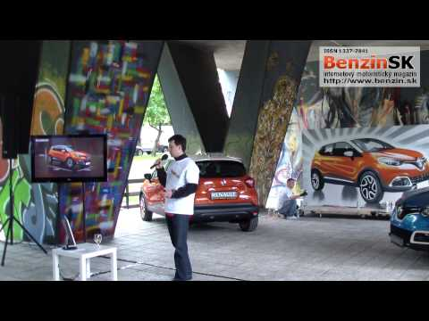 Tlačová beseda Renault Captur - uvedenie na Slovenský trh - www.benzin.sk