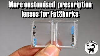 FPV Reviews: Fatshark prescription lenses from CustomFPX