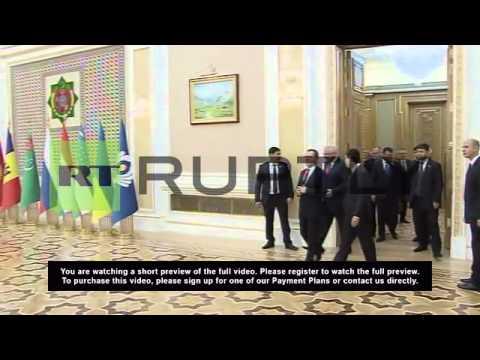 Turkmenistan: Medvedev keen to boost Turkmen-Russian ties