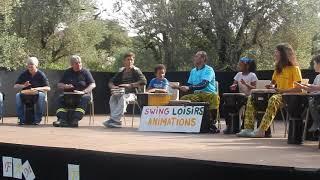 Mini show percussions fête des familles Beaulieu sur mer