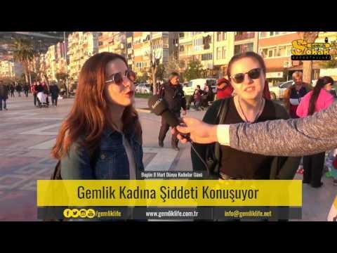 GemlikLife Sokak Röportajları - Gemlik Kadına Şiddeti Konuşuyor