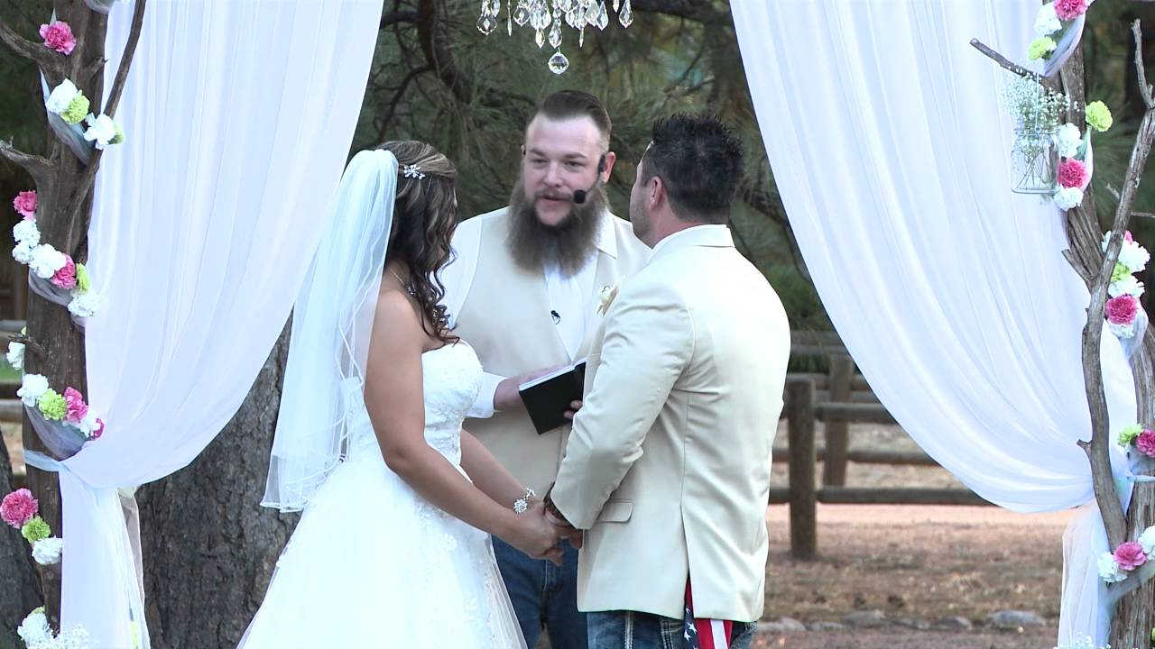 Funniest Wedding Ceremony Tara And Matt Jarratt