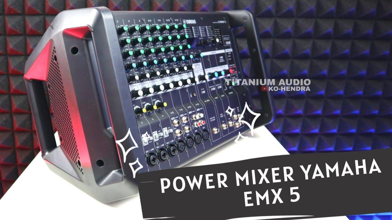 UNBOXING POWER MIXER YAMAHA EMX 5