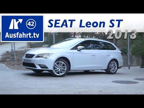 2013 SEAT Leon ST 1.4 TSI - Fahrbericht der Probefahrt  Test   Review
