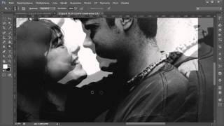 Видеоурок Photoshop Силуэты