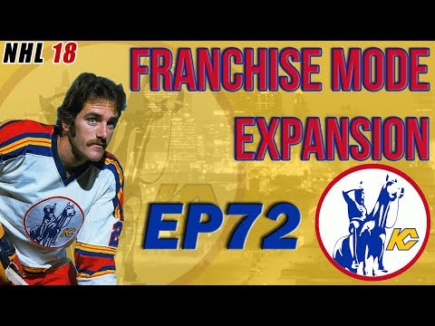 NHL 18: Kansas City Scouts Franchise Mode Expansion EP72 - Stanley Cup Final Vs New York Rangers