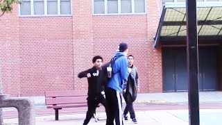Throwing SWINGS In The Hood Prank - GONE WRONG