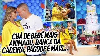 CHÁ DE BEBÊ MAIS ANIMADO, DANÇA DA CADEIRA, PAGODE E MAIS...
