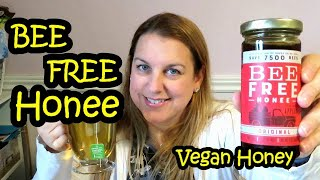 Bee Free Honee Review vegan honey made from apples?!?!