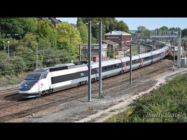 TGV Sud-Est - rames n° 14 et 12