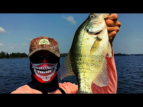 EARLY FALL CRAPPIE FISHING - Using Livescope And Side Imaging To Locate/ Catch Crappie On A New Lake