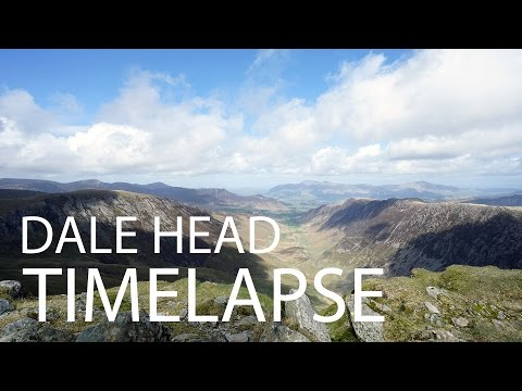[4K] Dale Head Timelapse -  Lake District Walk (Newlands Horseshoe)