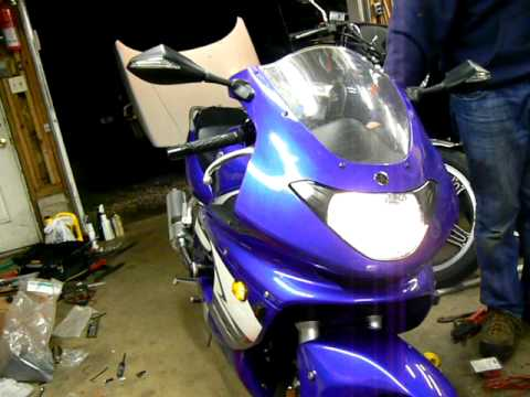 Yzf600r alternating turn signals and side markers youtube yzf600r alternating turn signals and side markers, Turn Signal Plug