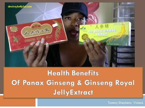 Health Benefits of Ginseng  Panax Ginseng  Royal Jelly Ginseng  Male Reporductive System Help