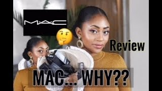 FULL FACE OF MAC COSMETICS HYPED MAKEUP PRODUCTS! REVIEW  FIRST IMPRESSIONS
