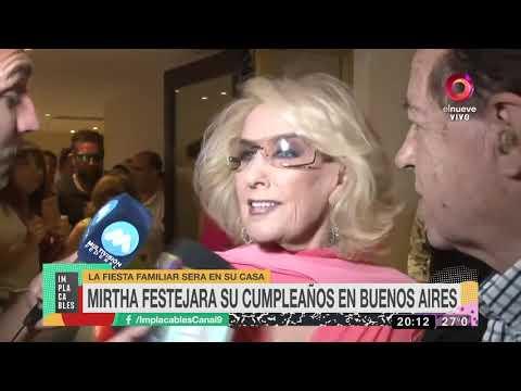 Mirtha Legrand se despidió de Mar del Plata