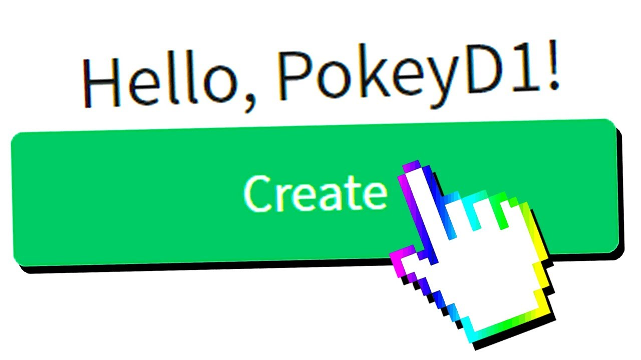 A New Account On Roblox