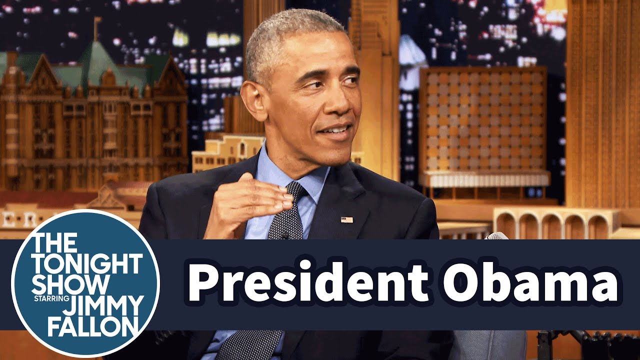 President Obama and Jimmy Had an Awkward First Meeting #1