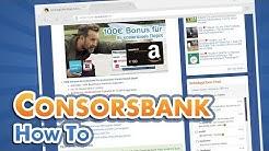 Consorsbank Depot: Wie kann ich Aktien kaufen? [Anleitung, Tutorial] | DealDoktor