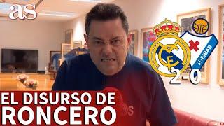 REAL MADRID 2- EIBAR 0 | El discurso de RONCERO: