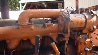 hot rod lincoln w cat d315 special sae 300 x 2 twin arc welding machine
