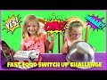 FAST FOOD SWITCH UP CHALLENGE - Magic Box Toys Collector