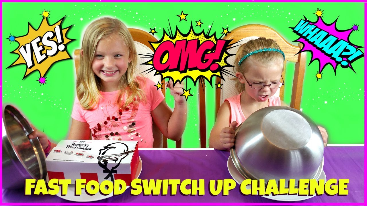 Fast Food Switch Up Challenge Magic Box Toys Collector