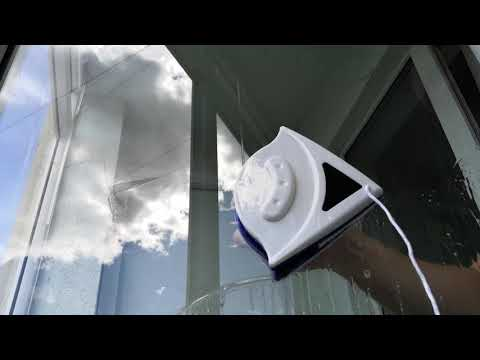 Test Of Double-sided Window Cleaner
