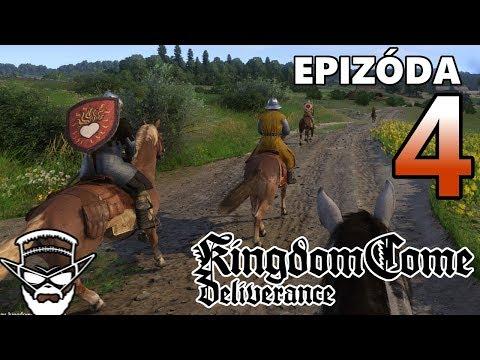 NAJLEPŠÍ ÚTEK V HISTÓRII ! - Kingdom Come Deliverance / 1080p 60fps / CZ/SK Lets Play / # 4