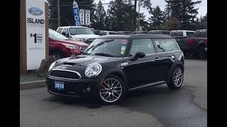 2010 MINI Cooper Clubman John Cooper Works W/ Leather, NAV, DVD Review| Island Ford