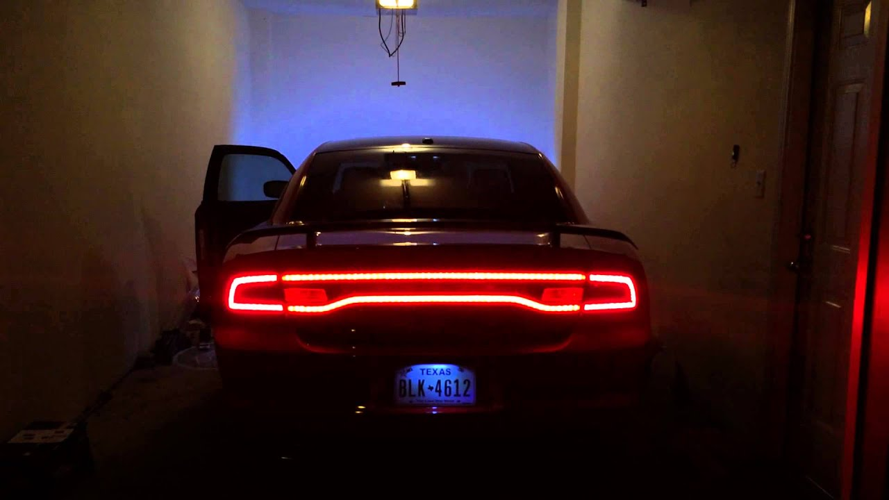 Dodge Charger Tail Lights >> 2nd gen Dodge charger sequential tail lights - YouTube