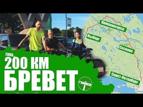 Бревет 200 км   Выборг - Каменногорск - Сосново - СПБ   ВЕЛОБЛОГ