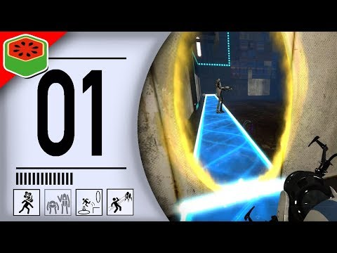 COMMENCE THE FRIENDSHIP TEST! | Portal 2 Co-op Let's Play #1