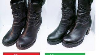Як прибрати глибокі подряпини з взуття