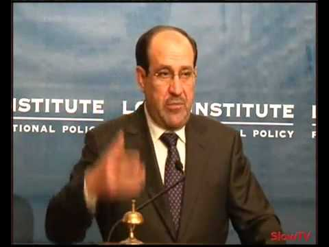 Nuri al-Maliki, Prime Minster of Iraq, on the future of Iraq