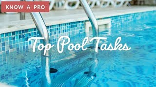 Top Pool Tasks | Pool Tips | Know A Pro(, 2019-05-15T20:00:01.000Z)
