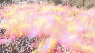 Holi Barcelona 2015. El Festival de los colores