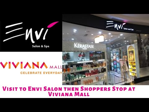Day Out At Viviana Mall ! Envi Salon Experience ! Shopper's Stop And Many More !!!