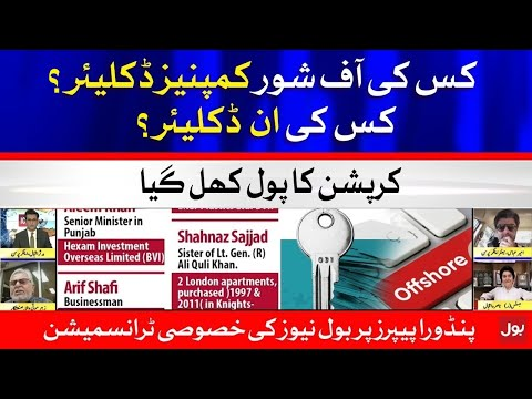 Offshore Companies to be Declare - Pandora Papers Scandal Special Transmission