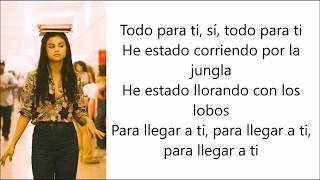 Selena Gomez, Marshmello - Wolves (Letra en español)